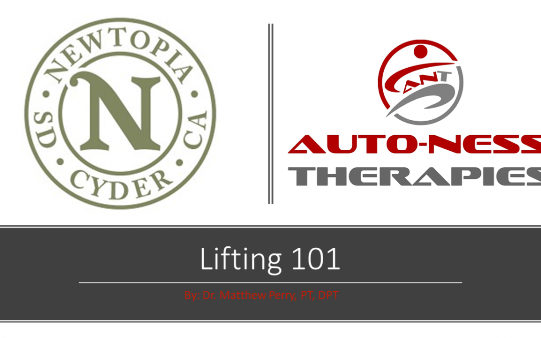 Newtopia Cyder and Auto-Ness Therapies