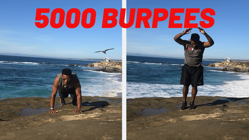 100 burpees a day for 50 days